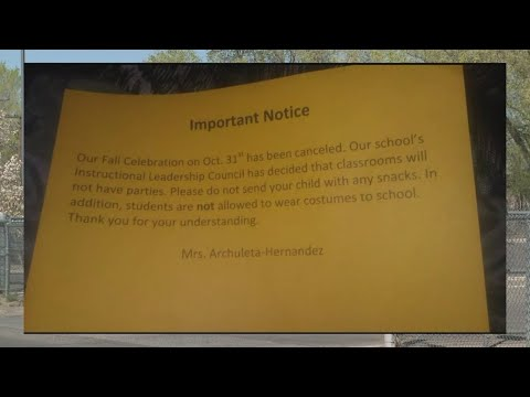 Armijo Elementary School cancels Halloween party for students