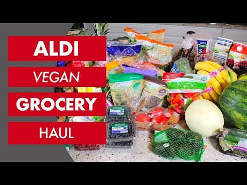 Vegan ALDI Grocery Haul | The Whole Food Plant Based Cooking