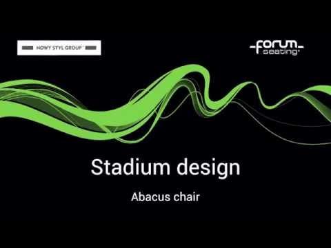 Stadium design: Abacus chair
