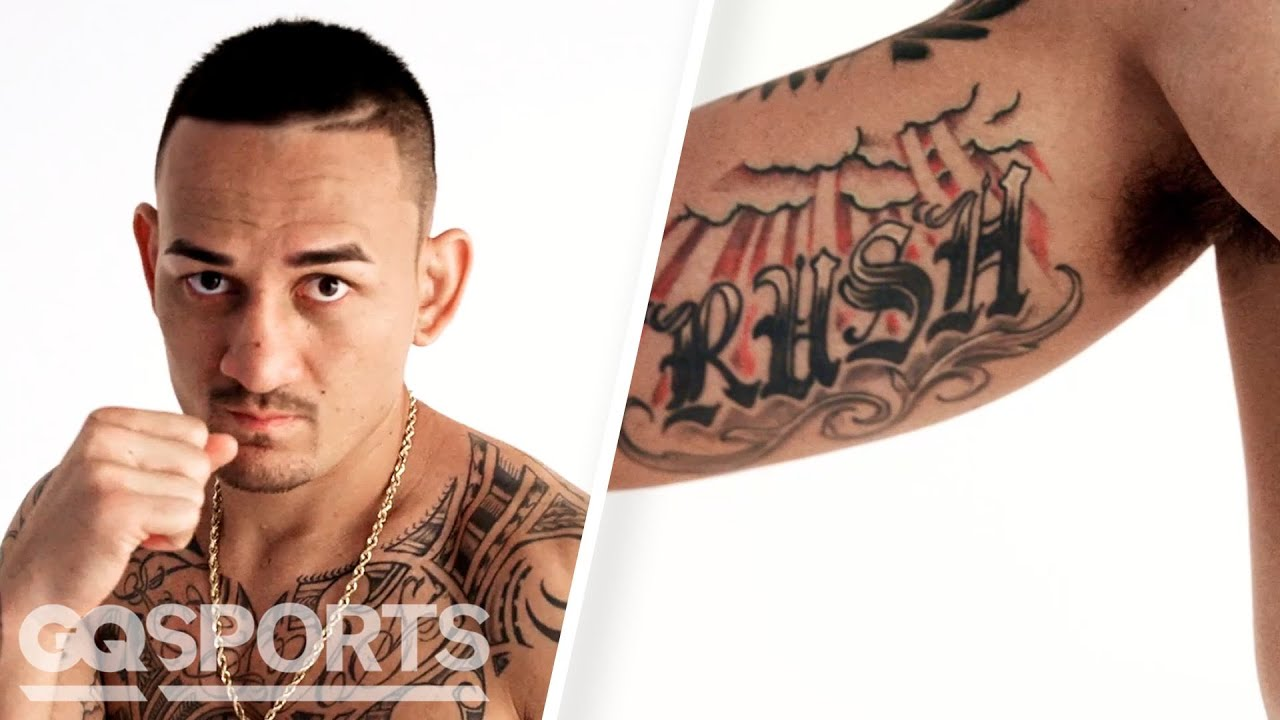 UFC Champion Max Holloway Breaks Down His Tattoos