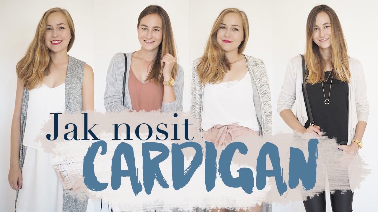 FASHION | Jak nosit cardigan! | Základy šatníku