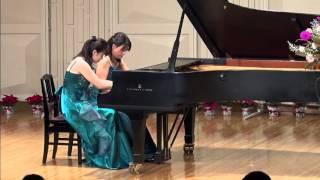 山口香織&藤田圭子 ラヴェル「スペイン狂詩曲」より第4曲 祭り Ravel,...