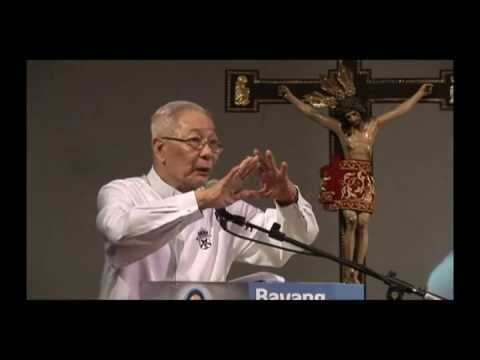 Fr. Catalino Arevalo, SJ Pt. 2 of 3 National Consecration to the Immaculate Heart of Mary