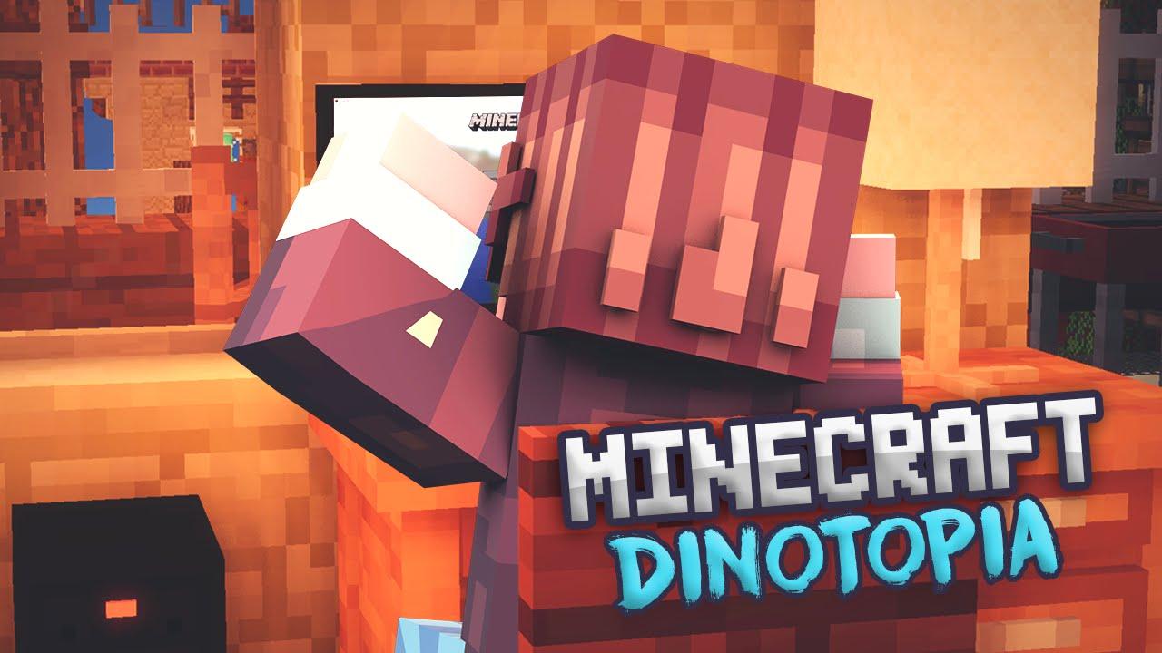 MINECRAFT DINOTOPIA DOWNLOAD INSTALLATIONSTUTORIAL SERVER - Minecraft dinotopia spielen