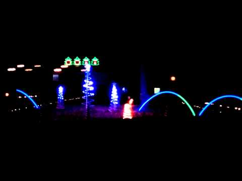 Amazing Musical Christmas Light Display Soddy TN