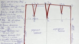 Построение основы выкройки прямой юбки для нетиповых фигур