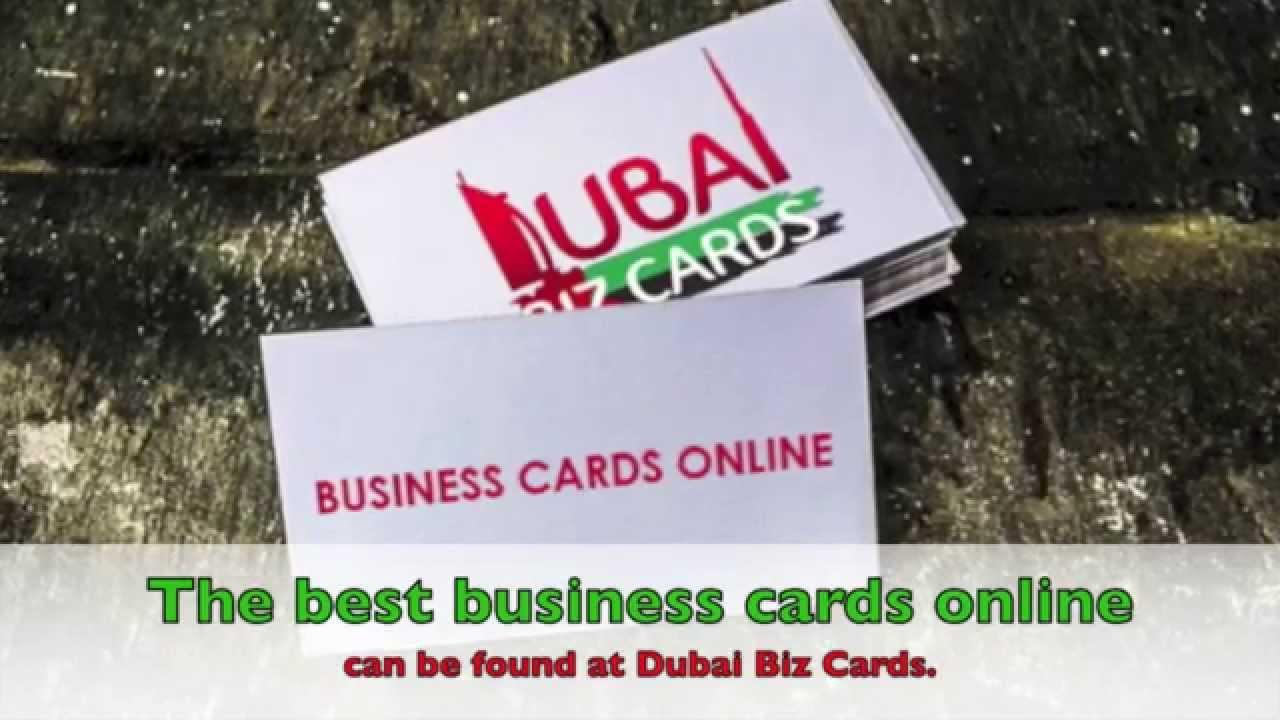 Dubai biz cards business cards online dubai business cards youtube dubai biz cards business cards online dubai business cards reheart Gallery