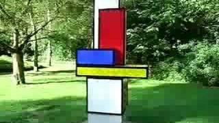 Quadrat Kunstplastik