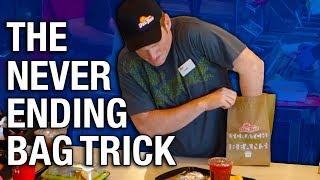 Repeat youtube video CRAZY MAGIC BAG TRICK! (MAGIC)