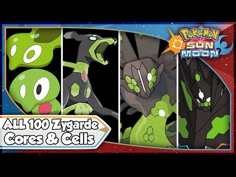 Pokemon Sun and Moon - ALL 100 ZYGARDE CELL & CORE LOCATIONS! [SM Tips & Tricks]