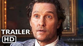 THE GENTLEMEN Official Trailer (2020) Matthew McConaughey, Charlie Hunnam Action Movie HD