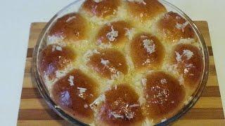 Чесночные пампушки/garlic dumplings