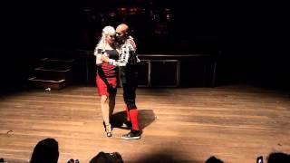 Видео: Albir & Sara - Kizomba Fusion - Byron Latin Fiesta 2012 - Saturday