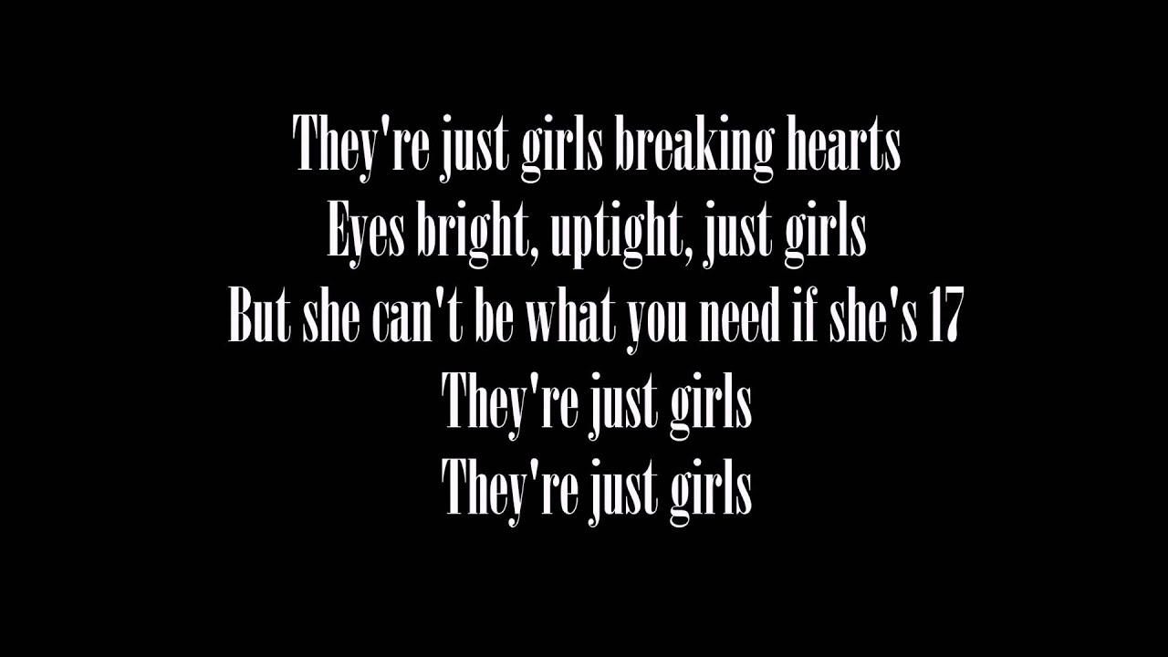 the 1975 girls lyrics