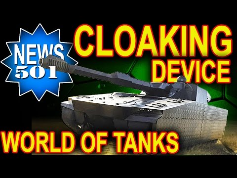 Cloaking device in World of Tanks - working!