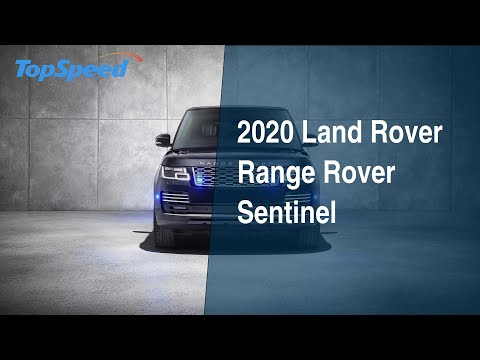 2020 Range Rover Sentinel - Everything you need to know about the armoured Range Rover
