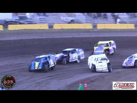 Ocean Speedway June 28th, 2019 IMCA Dirt Modifieds Main Event Highlights