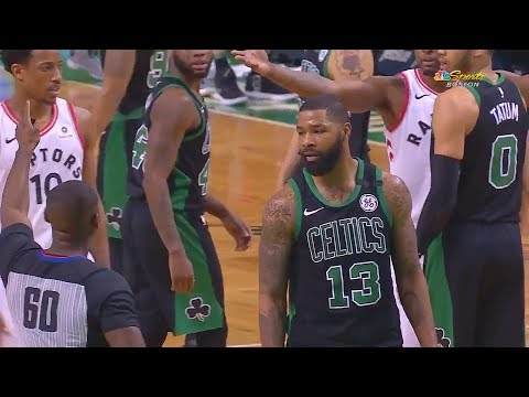 Marcus Morris Slaps Referee on the Backside Getting Ejected!