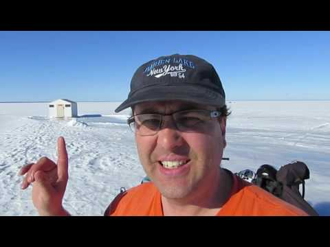 Lake Simcoe ICEFISHING Ice Report FEB, 18,19,20, 2017