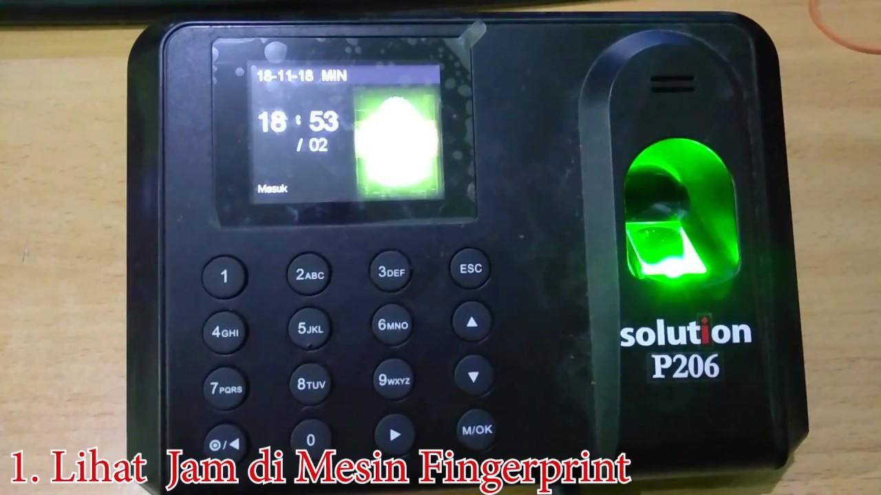 Reset admin & Password mesin fingerprint SOLUTION