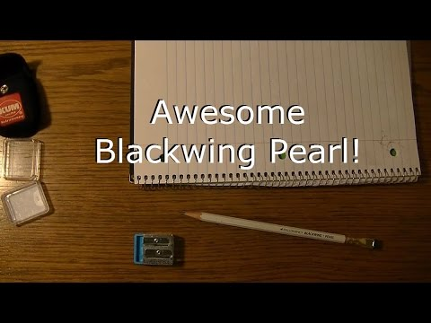 The AWESOME Blackwing Pearl | Best Writing Pencil in the World!