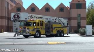 Engine 18 + Tower 18 + Battalion 2 Clark County Fire Department