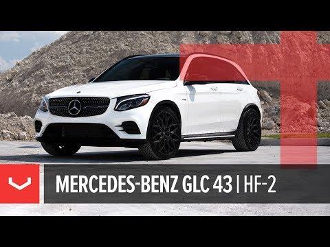 Vossen Hybrid Forged HF-2 Wheel | Mercedes-Benz AMG GLC 43 | Satin Black