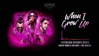 Dimitri Vegas & Like Mike ft Wiz Khalifa - When I Grow Up (Eastblock Bitches Remix)