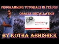 Oracle Installation In Telugu On Windows