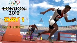 [TTB] London 2012 Olympics Playthrough Commentary - Hard Edition! Day 1