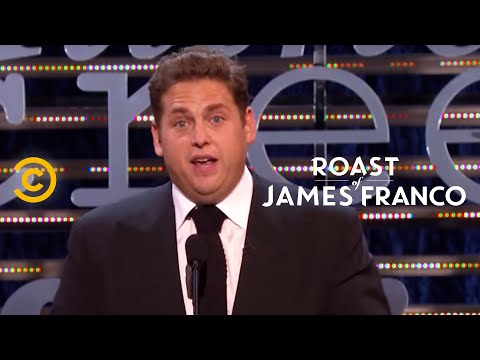 Roast of James Franco  Jonah Hill  The Franco Philosophy  Uncensored