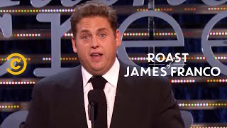 Roast of James Franco - Jonah Hill - The Franco Philosophy - Uncensored