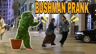 BUSHMAN PRANK in MADRID [PARTE #3]