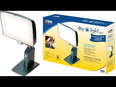 Day Light Sky 10,000 Lux Bright Light Therapy Lamp Features ...