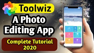 Best Photo Editing App   Toolwiz Photo Editing App Tutorial 2020   [Toolwiz] Photo Editing App Hindi screenshot 4