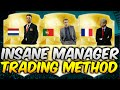 FIFA 16 UT - AMAZING MANAGER TRADING METHOD! (1K TRADING)