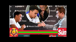 Liverpool defender Trent Alexander-Arnold beaten by world chess champion in just 17 moves despite L