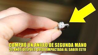Mujer se puso un anillo barato durante 30 años, mira otra vez y queda impactada al descubrir esto.