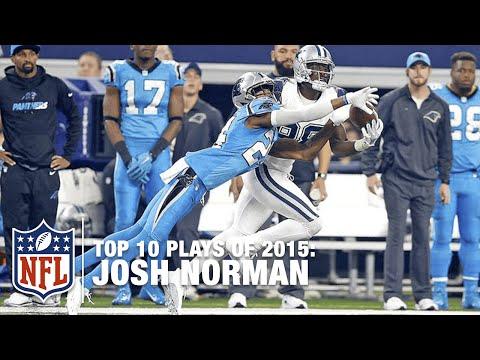 Top 10 Josh Norman Plays of 2015 | NFL