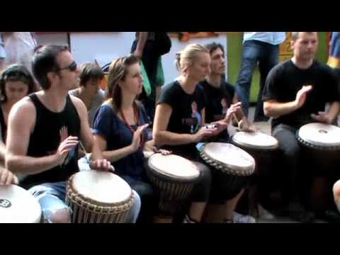 The Rhythm Studio African Djembe Drumming Group