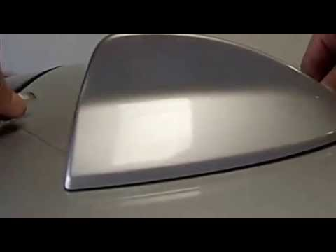 2014 BMW 335I >> SharkFin Removal - YouTube