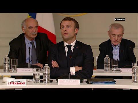 Macron sur l'économie - L'Info du Vrai du 19/03 - CANAL+