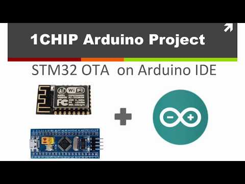 STM32 OTA on Arduino IDE