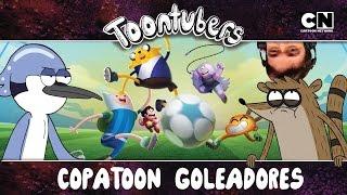 Ojos en el balón... ¡RIGBY NO TIENE MUNDIAL! #VamosPotro | ToonTubers | Cartoon Network