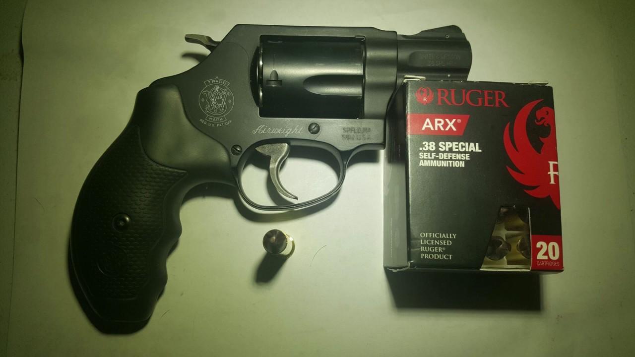 Ruger ARX 38 Special +P 77 gr Gel Test