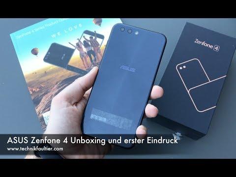 ASUS Zenfone 4 Unboxing und erster Eindruck