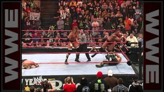 Rated-RKO vs. D-Generation X - World Tag Team Championship Match: New Year's Revolution 2007
