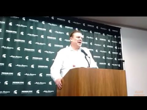 Brad Underwood Michigan State postgame
