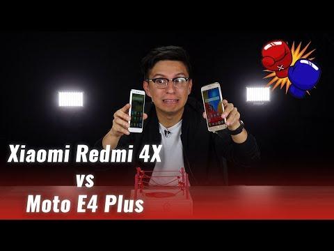 Moto E4 Plus vs Xiaomi Redmi 4X, ¿cuál es mejor?