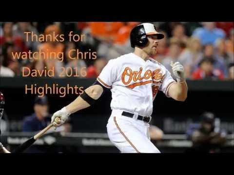 Chris Davis 2016 Highlights HD